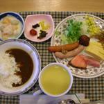 安芸グランドホテル - 朝食バイキング