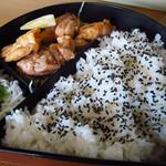 美好 - 【ランチ】 若鶏唐揚定食 \700