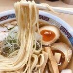 122910873 - 特製煮干らーめん薄口醤油味(1150円)