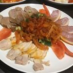 中華料理 華景園 - 3色前菜盛合せ