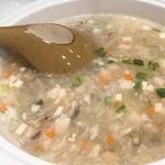 中華料理 華景園 - 海鮮とろとろスープ
