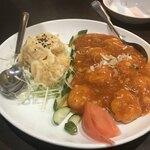 中華料理 華景園 - エビのチリソースとマヨネーズ合わせ
