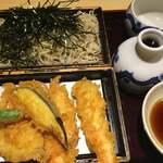 砂場 - 料理写真:天ざる1700円
