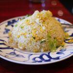 陳麻婆豆腐 - 蟹肉とレタスのチャーハン