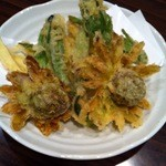 一番星 - 山菜の天ぷら