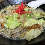 じゅげむ - 野菜炒めラーメン