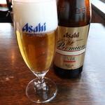 122922439 - 瓶ビール(アサヒ・プレミアム熟撰)