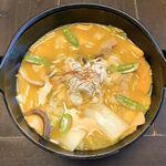 郷土料理とお食事処 赤富士 - 豚肉ほうとう