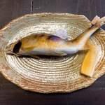 郷土料理とお食事処 赤富士 - 鮎の塩焼き