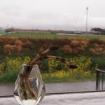 アンズカフェ - 土筆と菜の花