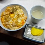 西陣 鳥岩楼 - 親子丼900円