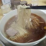 大勝軒 - 料理写真:中華そば・麺リフト図