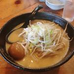 大正麺業 - 味噌ラーメン、味玉トッピング