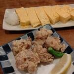 分福 - 出汁巻きと鶏唐揚げ