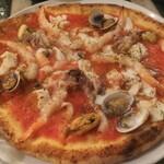 122939805 - ペスカトーレ 魚介たっぷりでチーズなしです。チーズがあればもっと美味しかったかもしれません。
