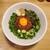 キラメキ☆JAPAN - 料理写真:台湾まぜそば「直太朗」大〆ご飯付き 780円