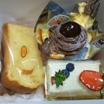 仁木ファーム フルーツファクトリー - 料理写真:購入した品