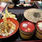すしめん処 大京 - 天ぷらそばミニ丼セット