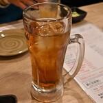 大衆酒場 本山ヒャッポ - ウーロン茶