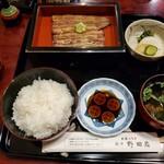 122948294 - 志ら焼定食(ご飯・お吸物・香の物)4,100円