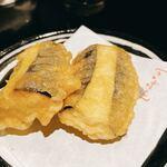 いざかやこばん - 秋茄子の天ぷら