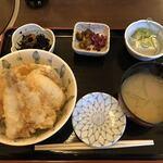 ちゃんこ道場 - 本日の天丼
