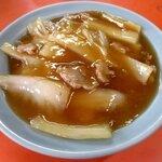 喜楽飯店 - 肉と白菜のうま煮!