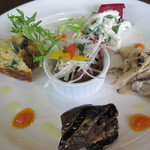 長清丸 - 料理写真:真ん中のホタルイカ旨し