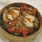 欣葉 - 料理写真:紅蟳米糕(ワタリガニのタイワンスタイルおこわ)850元
