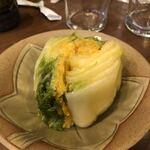 あさひ町スタンド - 白菜のつけ物