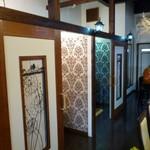 Cafe Bar Denja - 店内(テーブルは個室です)