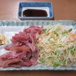 なかま食堂 - 山羊刺し 1300円(税込)