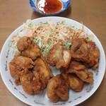 なかま食堂 - チキン唐揚げ 650円(税込)