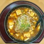 ラーメンとやの - 料理写真:麻婆麺(並盛)