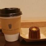 プラス スタンドコーヒー - ホットコーヒー、カヌレ