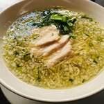 四川担担麺 蒼雲 - 淡麗でクリア、力強い味わい絶品鶏そば(*´∇`*)