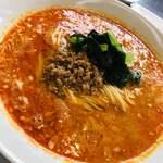 四川担担麺 蒼雲 - 芝麻醬、ナッツのようなコク、旨味が重なる担担麺 (//∇//)