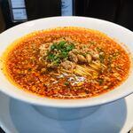 四川担担麺 蒼雲 - 難しいとされる酸味と辣味のバランスが絶妙 すっきりしながらコクもある超絶酸辣麺╰(*´︶`*)╯