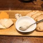 Niku Teria カルネバッカ - チーズ盛り