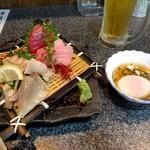 旬彩料理 小名浜 - 料理写真:刺身盛り合わせ