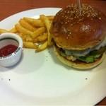 12297420 - ランチのハンバーガー