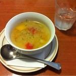 12297442 - ランチのスープ