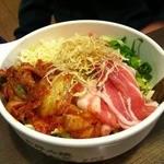 道とん堀 - キムチ豚(787円)