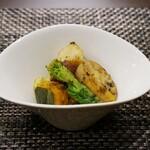 欧風煮込料理研究所 エル ルージュ - 鴨のコース 焼き野菜