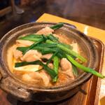 国分寺そば - 肉豆腐