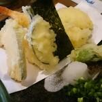 山の音 - 天釜の天ぷら