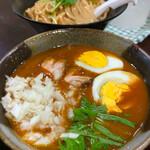 つけ麺 大氣 - スパイシーカレーつけ麺(並)