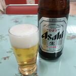 122981819 - 瓶ビール(アサヒスーパードライ)