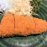 とんかつ元禄 - 料理写真:ひれかつ(松)アップ