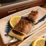 いな穂 - 豚バラ葱串焼き